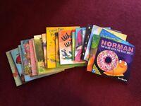 21 large format children's illustrated paperback books