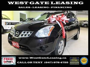 2013 Nissan Rogue S | ONE OWNER | 0% FINANCE |