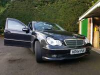 Mercedes c class with extras