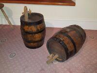 Pair of Antique Sherry Barrels