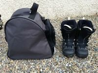 Salamon Ivy (Female) Snowboard Boots - Size UK 6.5