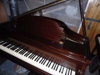 baby grand piano by steck 4ft