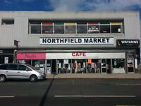 retail space immediate start available