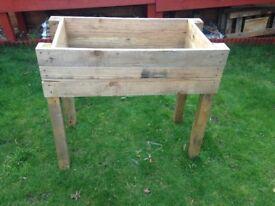 Handmade Wood Planter