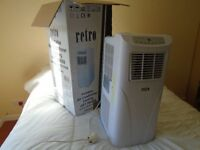 RETRO STANDARD MANUAL PORTABLE AIR CONDITIONERS WITH FULL INSTRUCTIONS