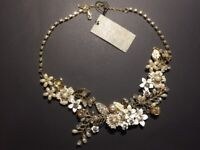 Miriam Haskell ornate necklace
