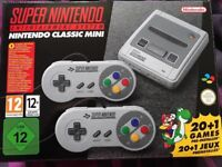 Super nintendo classic mini snes as new in box games console retro gaming