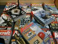 Aircraft Magazines from 2000 upto 2014 98% complete volumes.