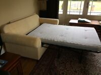 3 Seater Bed Sofa and Matching Single Chair