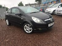 2007 VAUXHALL CORSA SXI 1.2 PETROL 3DOORS HATCHBACK-- ONLY DONE 62K --ONE YEAR MOT-- GOOD CONDITION