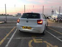 2012 (62) BMW 116d 1.6 diesel1 Series efficient dynamics £0 road tax 74mpg cheap insurance