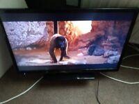 32 inch HITACHI 1080P LED FREEVIEW HDMI USB MEDIA TV SLIM MODEL