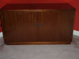 TV and video/DVD cabinet