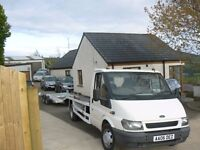 2006 ford transit recovery lorry
