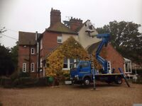 Cherry Picker with operator for hire, to help gain access to those tricky jobs at height