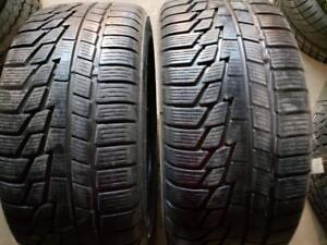2 winter tires nokian wr 225/45r17 tt