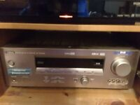 YAMAHA 6.1 SURROUND WITH DAB RADIO AND Q ACCOUSTIC SPEAKERS AND STANDS EXCELLENT CONDITION