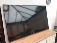 """Samsung tv with broken screen 48.5"""""""
