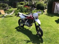 Husqvarna sms 4 125 full MOT Excellent condition