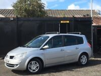 ★ 2008 RENAULT GRAND SCENIC 1.5 DCi DYNAMIQUE + ALLOYS + 1/2 LEATHER ★