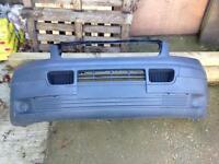 VW transporter 04-2010 front bumper complete