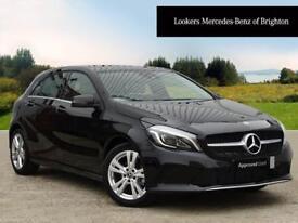 Mercedes-Benz A Class A 180 D SPORT PREMIUM (black) 2017-10-31