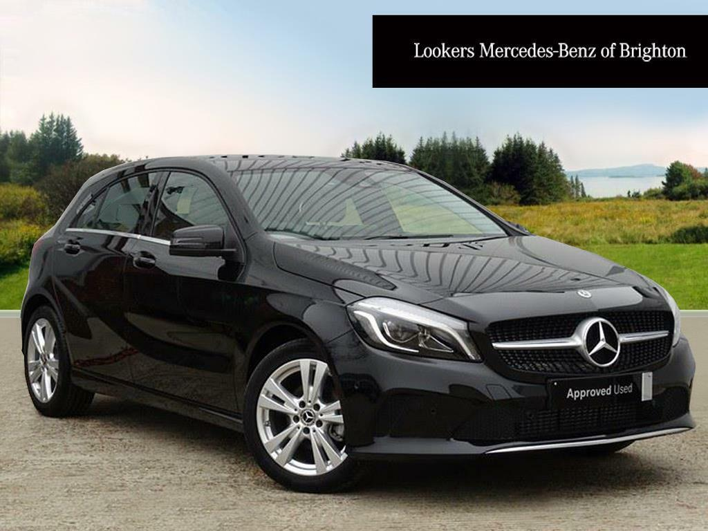 mercedes benz a class a 180 d sport premium black 2017 10 31 in portslade east sussex gumtree. Black Bedroom Furniture Sets. Home Design Ideas