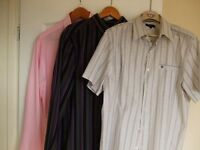 LAST DAY BEFORE I GIVE THEM TO CHARITY-MENS SHIRT BUNDLE