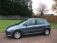 peugeot 307 hdi 2005 mot aug 17 £695 stamps in service book
