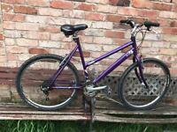 Woman's Raleigh mtb bike