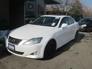 2008 Lexus IS 250 LEATHER, SUNROOF