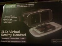 New never opened 3d virtual reality headset smartphone use.