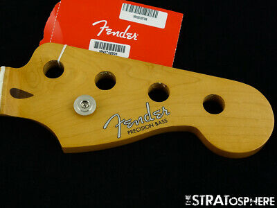"Fender Vintera 50s RI P BASS NECK Precision 1950s Vintage ""C"" Maple"