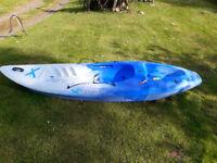 1 Teksport xcite sit on top kayak.