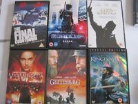 14 Original DVD,s – not copies – in original cases