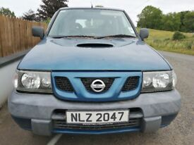 Nissan Terrano 2004 Blue - For parts only!