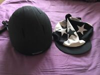 ONYX Horse Riding Hat+ Cover