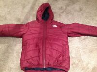 North face puffy jacket kids size 11-12