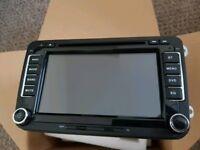 Volkswagen golf passat polo caddy SAT NAV navigation system DVD bluetooth usb gps RNS510 style