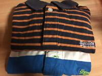 2 superdry polo t-shirt