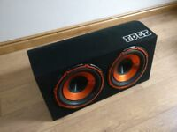 EDGE 2 X 12 INCH 1800 WATT SUB WITH BUILT IN AMP