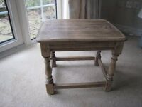 WANTED: Ercol Side Coffee/Side Table as shown