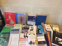 REDUCED £40 onoBooks social work, psychology, cooking etc cost over £250 BARGAIN £60 ono