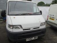 Citroen Relay 1.9 ~Diesel 2001 year, Breaking for parts , Low mileage van