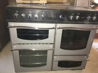 Leisure Rangmaster double electric oven / hobs / grill