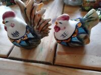 Lovely pair of vintage,salt and pepper shakers
