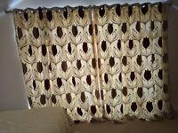 Dunelm Lalique Wine Eyelet curtains and 2 extra large cushions