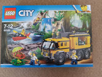 Lego 60160 City Jungle Mobile Lab - Brand New