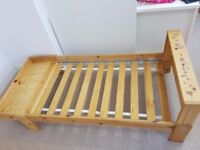 Ikea extendable kids bed