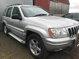 2003 Jeep Grand Cherokee 4.7 LPG Autogas Limited / Part Exchange Available